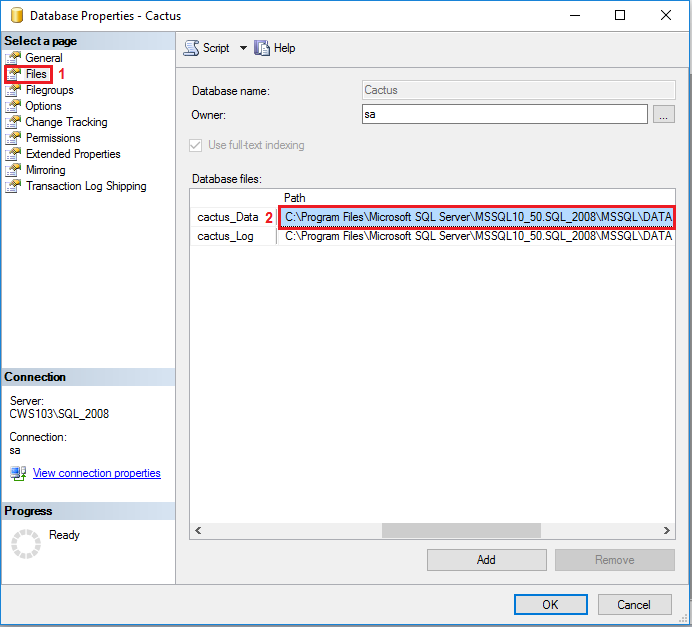 راهنمای بازیابی نسخه پشتیبان در نرم افزارهای کاکتوس